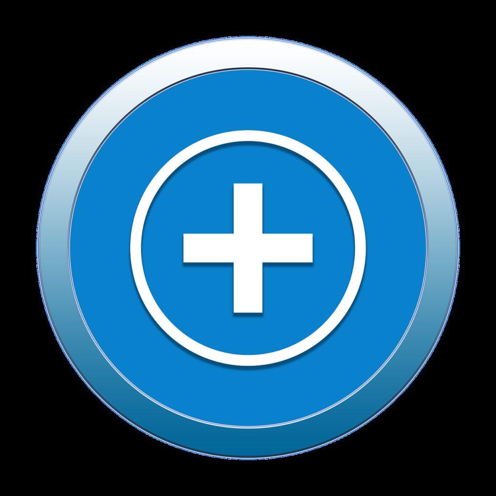 add, icon, button