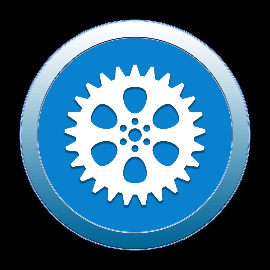 gear, settings, icon